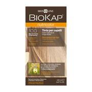 Biokap Nutricolor, farba do włosów, 10.0 złoty bardzo jasny blond, 140 ml