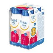 Frebini Energy Drink, płyn o smaku truskawkowym, 4 x 200 ml