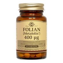 Solgar Folian (Metafolin), 400 µg, tabletki, 50 szt.