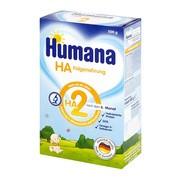 Humana HA 2, hipoalergiczne mleko następne, proszek, 500 g