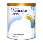 Neocate Junior, proszek o smaku neutralnym, dieta hipoalergiczna, 400 g