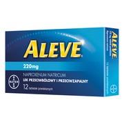 Aleve, 220 mg, tabletki powlekane, 12 szt.