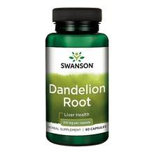Swanson Dandelion Root (Mniszek lekarski), 515 mg, kapsułki, 60 szt.