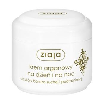 Ziaja, krem arganowy na dzień i na noc, do skóry bardzo suchej i podrażnionej, 75 ml