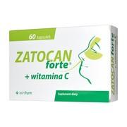 Zatocan Forte + witamina C, kapsułki twarde, 60 szt.