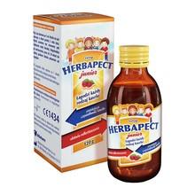 Herbapect Junior, syrop, smak malinowy, 120 g