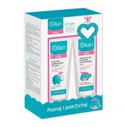 Zestaw Promocyjny Oillan Baby, mleczko nawilżające do ciała, 200 ml + szampon, żel do kąpieli i pod prysznic 3w1, 200 ml
