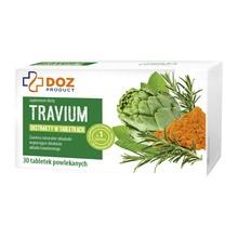 DOZ PRODUCT Travium, tabletki powlekane, 30 szt.