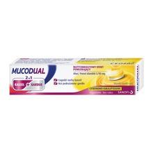 Mucodual, pastylki do ssania, 2 w 1, kaszel + gardło, 18 szt.