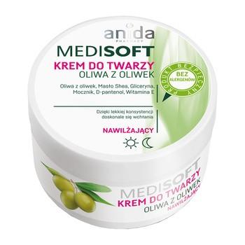 Anida Medi Soft, krem nawilżający oliwa z oliwek, 100 ml