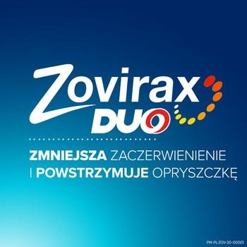 Zovirax Duo, 50 mg + 10 mg, krem na skórę, 2 g