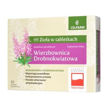 Wierzbownica drobnokwiatowa, tabletki powlekane, 30 szt.