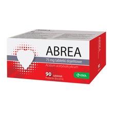Abrea, 75 mg, tabletki dojelitowe, 90 szt.