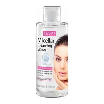 Beauty Formulas, oczyszczający płyn micelarny do demakijażu, 200 ml