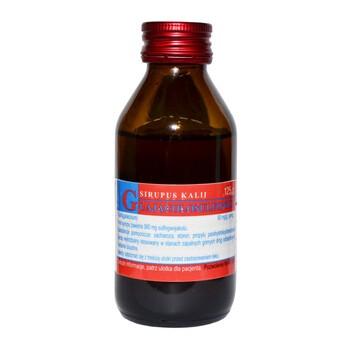 Sirupus Kalii guajacolosulfonici, syrop, 125 g