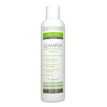 Linoderm Hair, szampon przeciw wypadaniu włosów, 250 ml