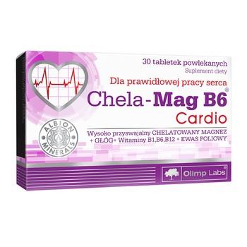 Olimp Chela-Mag B6 Cardio, tabletki powlekane, 30 szt.