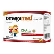 Omegamed Odporność 3+, płyn, w saszetki, 30 szt.