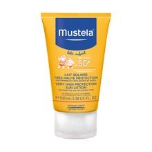 Mustela Bebe-Enfant, mleczko przeciwsłoneczne SPF 50+, 100 ml