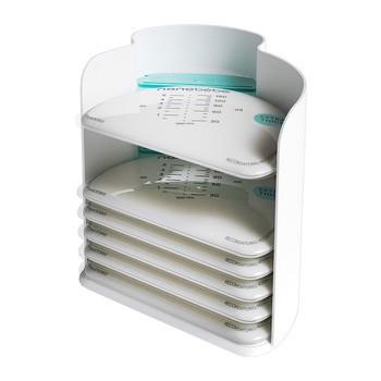 NANOBEBE organizer + torebki do przechowywania pokarmu 25 szt.