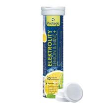 Protego Elektrolity Lemon & Mint+, tabletki musujące, 20 szt.