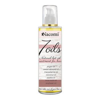 Nacomi, maska do olejowania włosów, 7 olei, 100 ml