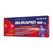 Iburapid, 400 mg, tabletki powlekane, 10 szt.