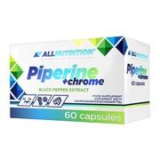 Allnutrition Piperine + chrome, kapsułki, 60 szt.