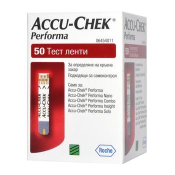Test paskowy Accu-Chek Performa, 50 pasków