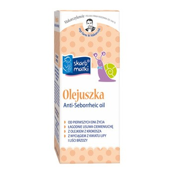 Skarb Matki, Olejuszka, olejek na ciemieniuszkę, 30 ml