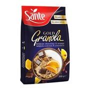 SANTE Granola gold, czekolada-pomarańcza, 300 g