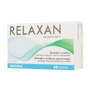 Relaxan, tabletki powlekane, 60 szt.
