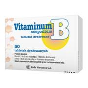 Vitaminum B compositum, tabletki drażowane, 50 szt.