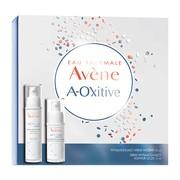 Zestaw Promocyjny Avene Eau Thermale A-Oxitive, wygładzający krem wodny, 30 ml + krem wygładzający kontur oczu, 15 ml