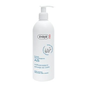 Ziaja Med Kuracja Dermatologiczna AZS, natłuszczająca emulsja do ciała, 400 ml
