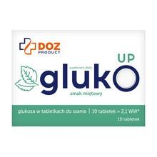 DOZ Product GlukoUp, tabletki do ssania, smak miętowy, 10 szt.